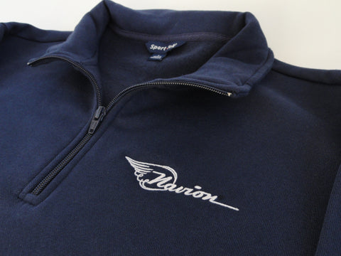 Navion Sweatshirt (1/4 Zip) - Embroidered Emblem
