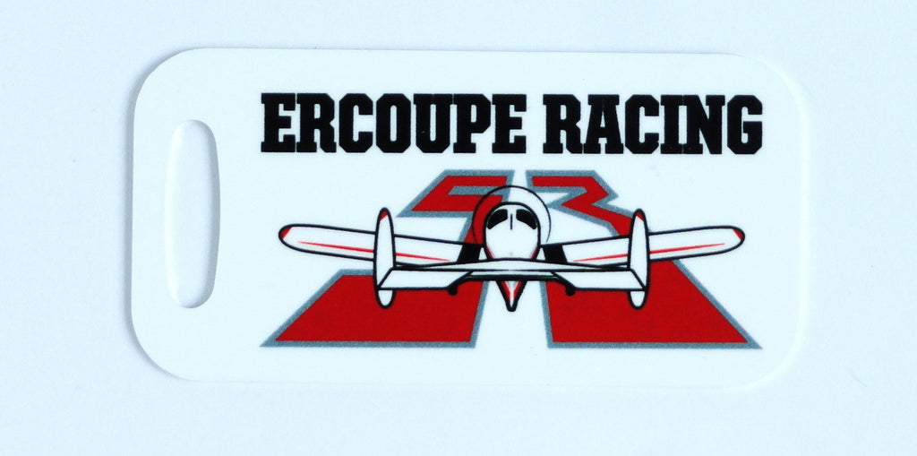 Race 53 Ercoupe Racing Decorative Bag Tag