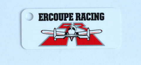 Race 53 Ercoupe Racing Keychain