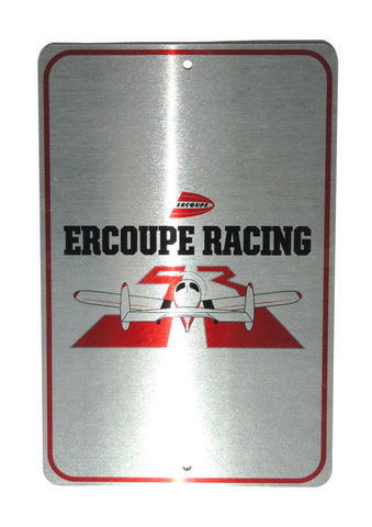 Race 53 Ercoupe Racing Metal Sign (Aluminum)