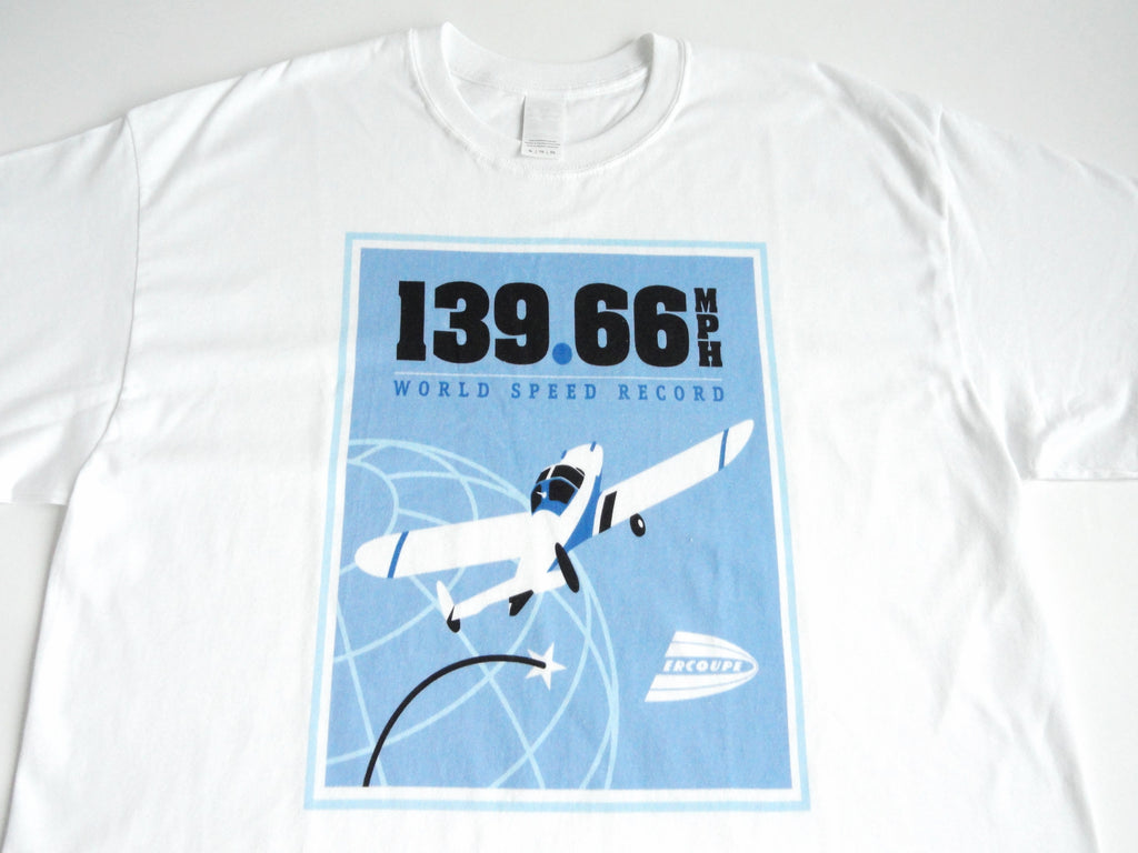 Race 53 Ercoupe World Speed Record T-Shirt (Short Sleeve)