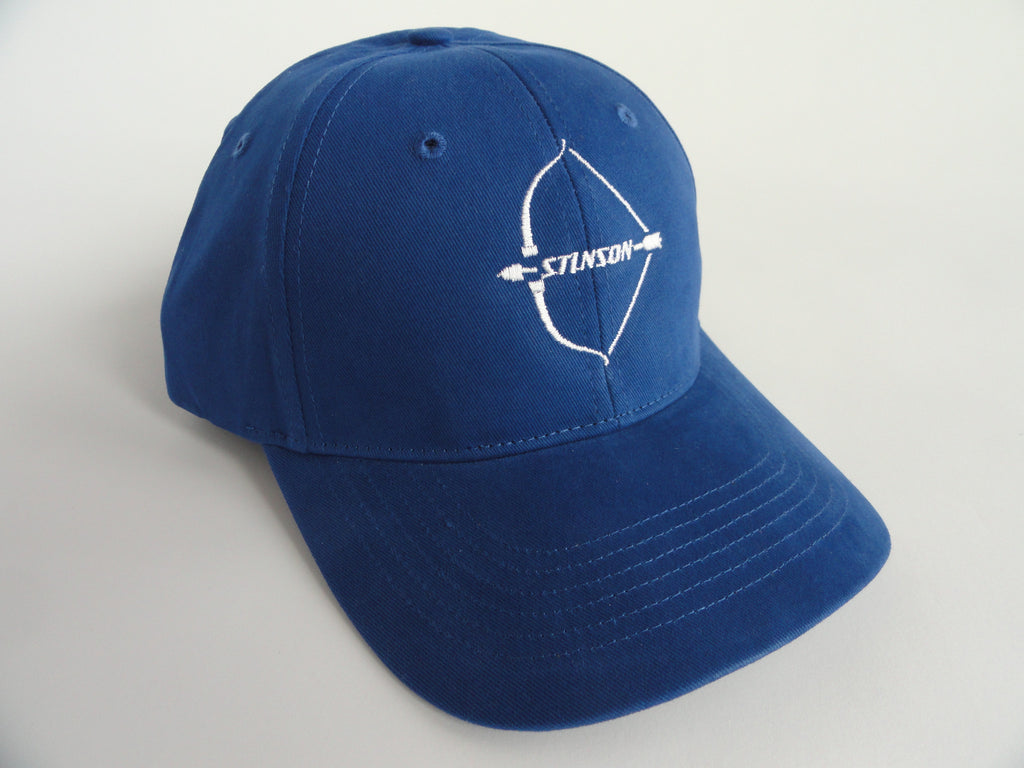 Stinson 108 Hat - (Fabric Back) - Embroidered Emblem