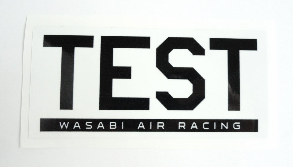 Wasabi Air Racing TEST Decal