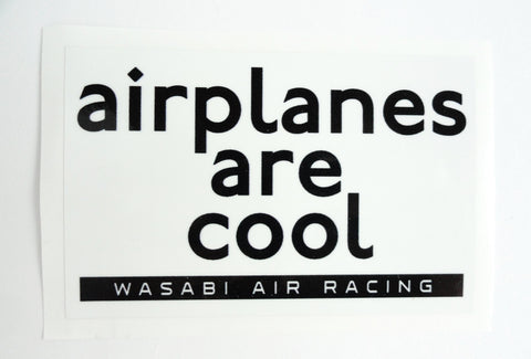Wasabi Air Racing - Airplanes are Cool Decal