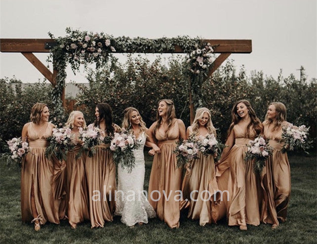 Alexis Kindopp's Bridesmaid Dresses