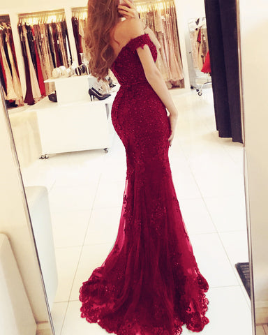Image of maroon-prom-dresses