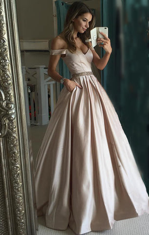 Image of Prom Dresses 2018 Satin