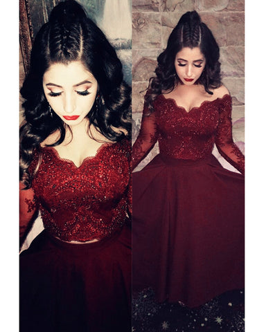 Image of Prom Dresses Two Piece