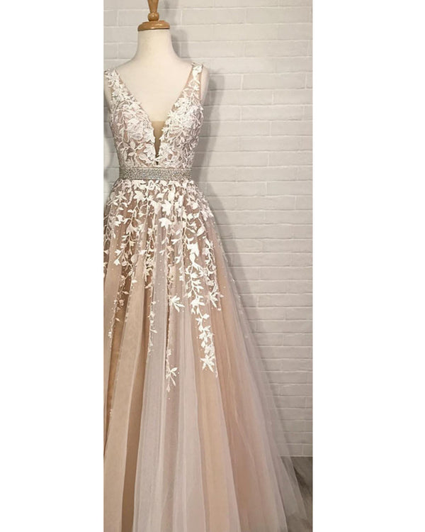 Prom-Dresses-Long-Ball-Gowns-Quinceanera-Dresses-Champagne