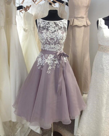 Image of Gray-Bridesmaid-Dresses