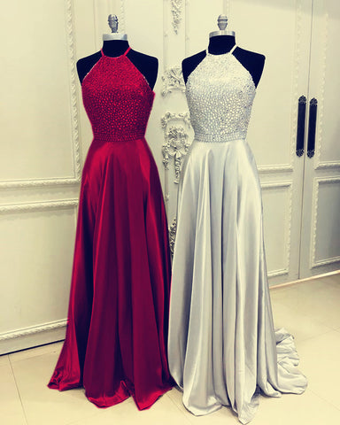 Image of halter-prom-gowns
