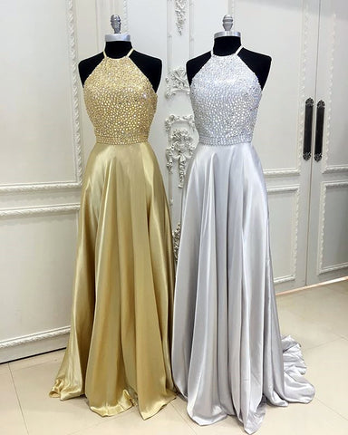 Image of gold-prom-dress