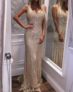 Gold Evening Dresses For Wedding