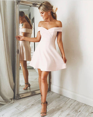 Nude Pink Homecoming Dresses 2019