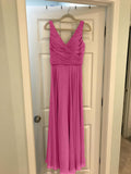 Pink-Bridesmaid-Dresses-Chiffon-Evening-Gowns