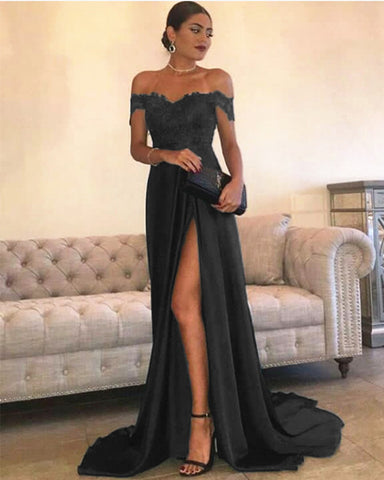 Image of Black Prom Dresses 2021