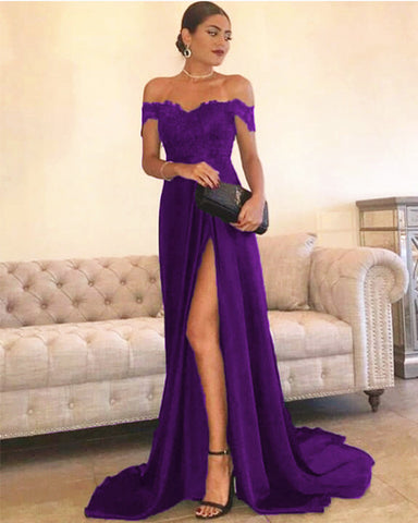 Purple Prom Dresses 2021