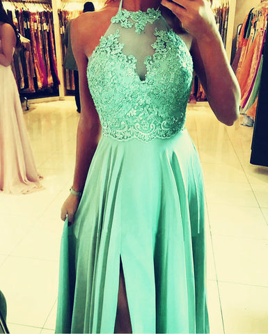 Mint Bridesmaid Dresses Long