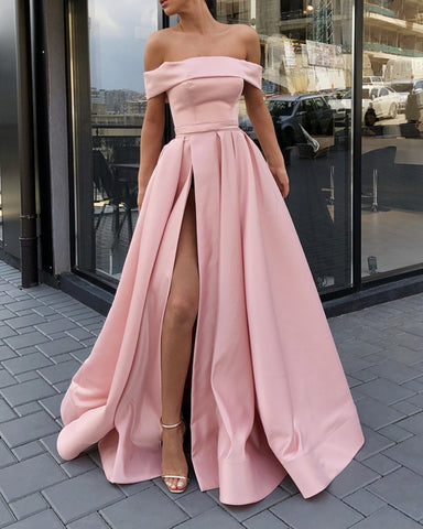 Image of Blush Pink Prom Dresses 2019