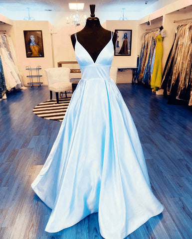 Image of baby-blue-prom-dresses-ballgowns-party-dress