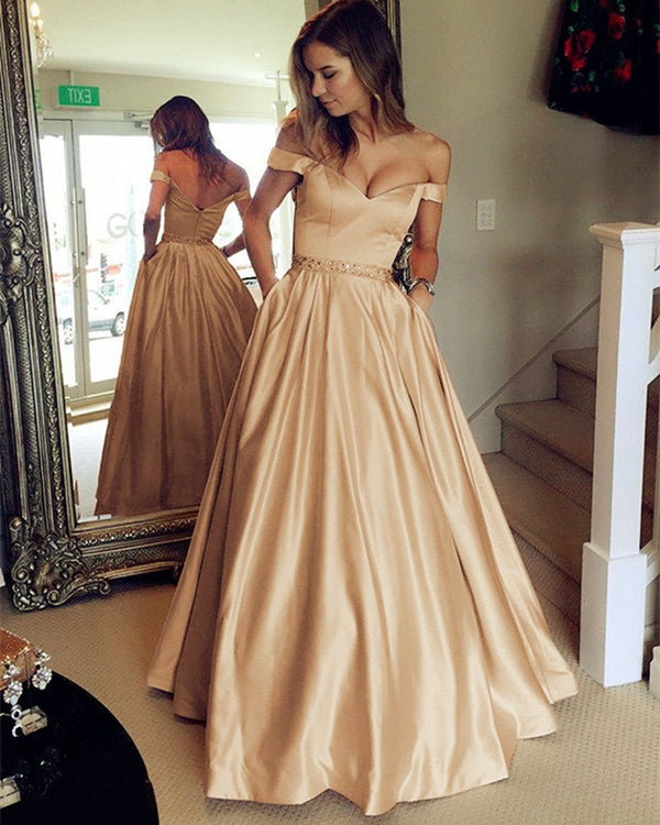 Long-Champagne-Prom-Dresses-2019-Off-Shoulder-Evening-Party-Gowns