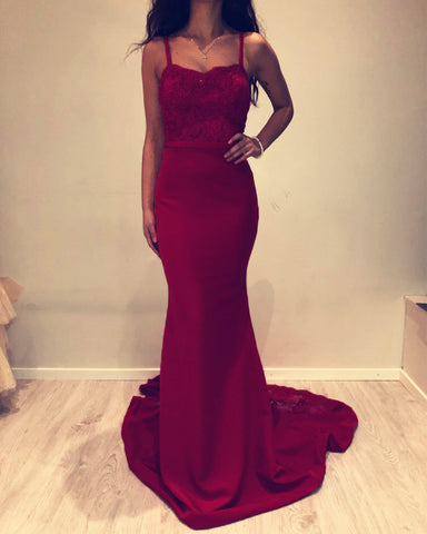 Image of Burgundy Dresses Prom