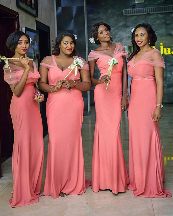Coral-Bridesmaid-Dresses