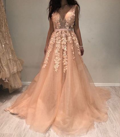 Image of Prom-Dresses-Coral