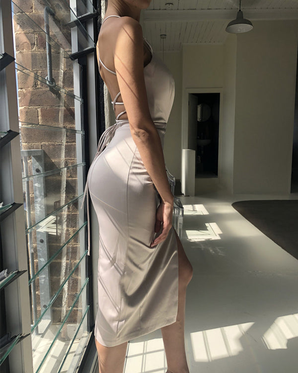 Silver-Party-Dresses-Sheath-Bridesmaid-Gowns