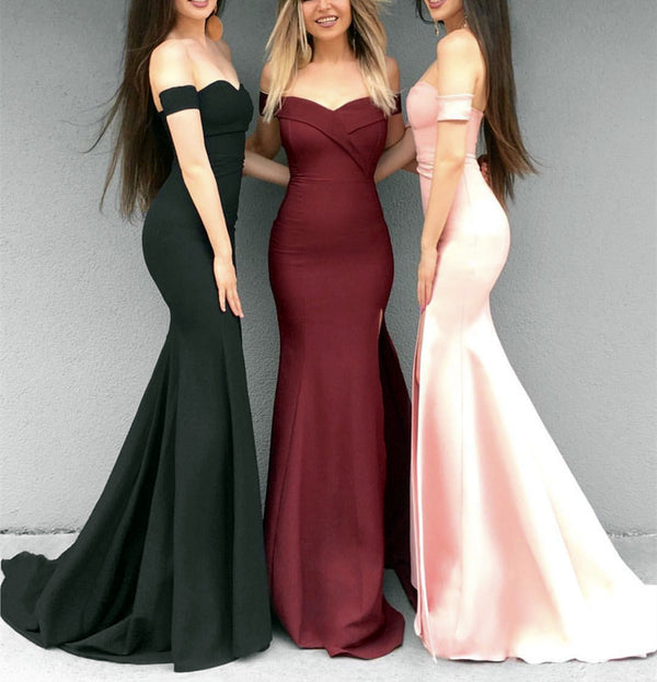 Sexy-Mermaid-Dresses-V-neck-Prom-Evening-Gowns-Off-The-Shoulder