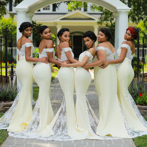 Image of Bridesmaid-Dresses-Mermaid