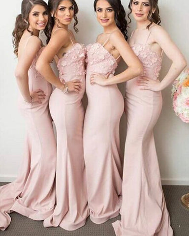 Image of Bridesmaid-Dresses-Light-Pink