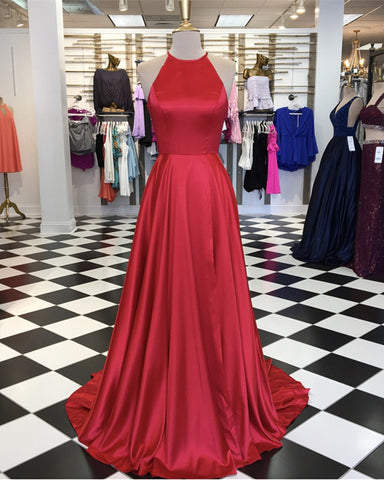 Image of Red-Prom-Dresses-Long-Evening-Gowns-Women-Formal-Dress
