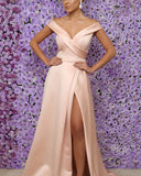 Pearl-Pink-Prom-Dresses-Long-Formal-Bridesmaid-Gowns