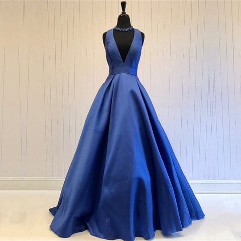 Image of navy-blue-ballgowns-prom-dresses
