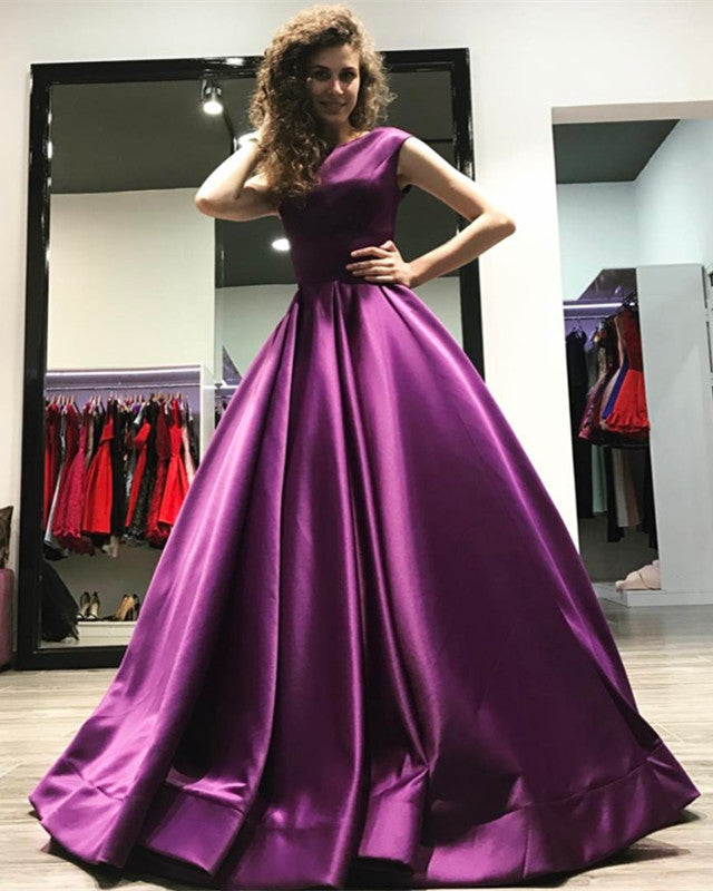 5b5caef39 ... long-prom-dresses  purple-bridesmaid-dress  long-evening-gowns  A-line  Open Back Long Satin ...