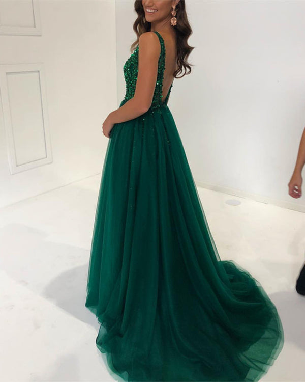 Open-Back-Prom-Dresses-2019-Sequins-Beaded-Evening-Gowns