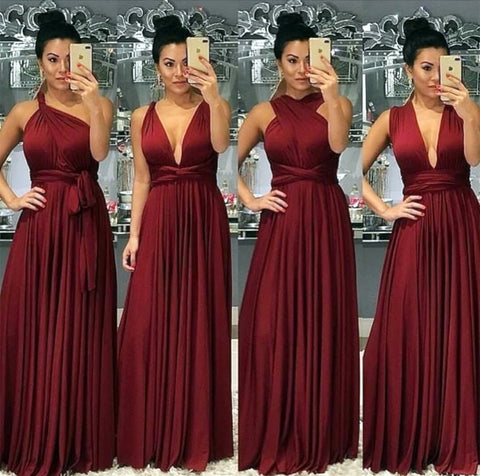 Sexy-Long-Burgundy-Bridesmaid-Dresses