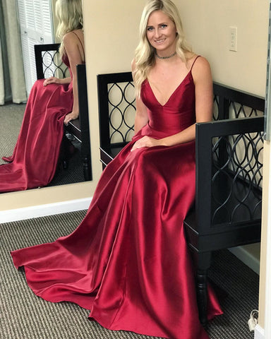 Image of burgundy-prom-gown