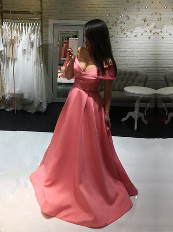 Image of Watermelon-Prom-Dresses
