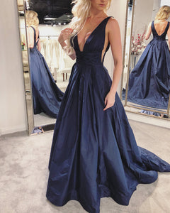 Navy-Blue-Ball-Gowns