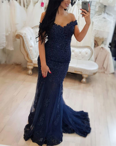 Image of Elegant-Mermaid-Dresses