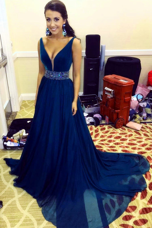 Navy-Blue-Formal-Gowns