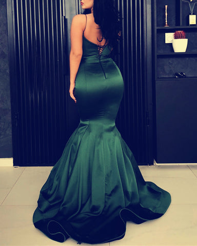 Image of Backless-Mermaid-Evening-Gowns-2019-Sexy