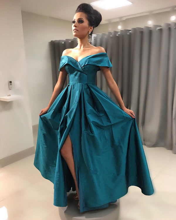 Teal-Green-Bridesmaid-Dresses