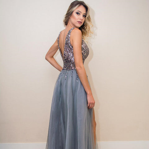 Image of Tulle Prom Dresses