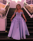 Light Blue Evening Dresses