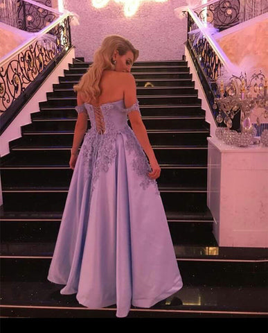 Image of Light-Blue-Formal-Gowns