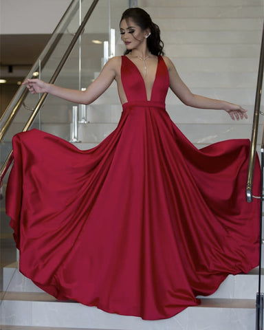 Image of Red Bridesmaid Dresses 2020