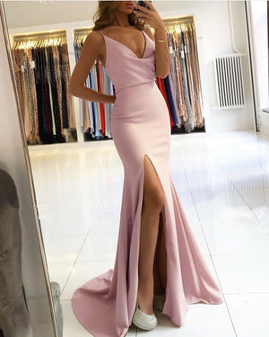 Mauve Mermaid Bridesmaid Dresses